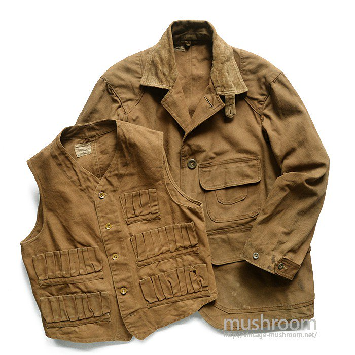 TRYON'S HUNTING JACKET WITH CHINSTRAP