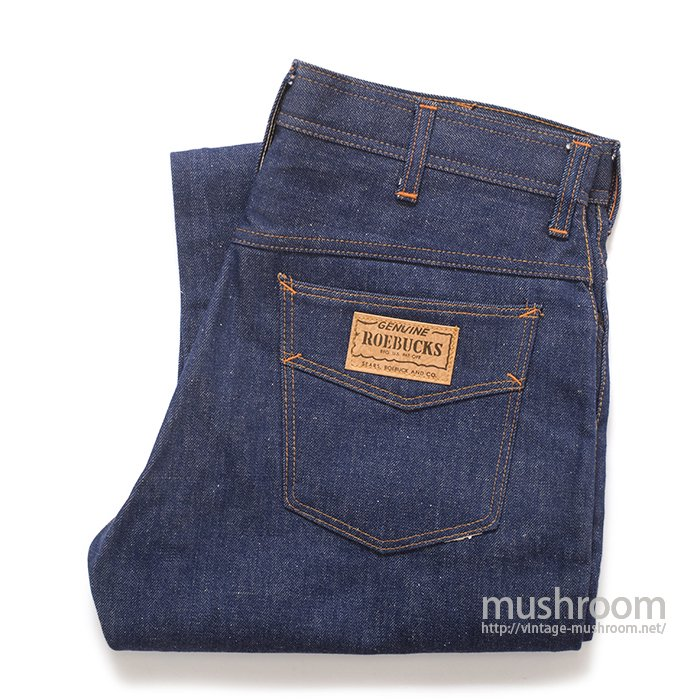 SEARS ROEBUCKS FIVE POCKET JEANS( ALMOST DEADSTOCK )