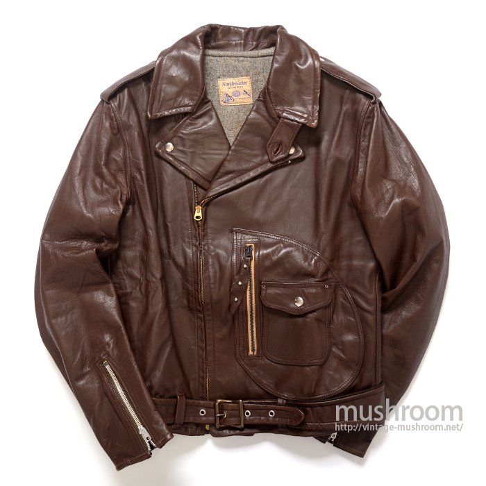 BECK Northeaster 333 M/C Leather Jacket( 40/DEADSTOCK )