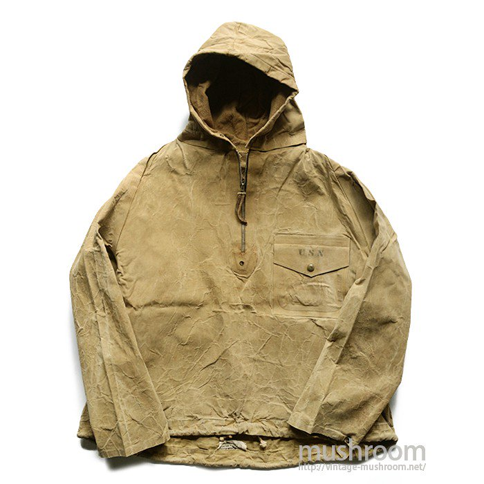 U.S.NAVY N2 PULLOVER PARKA WITH POCKET