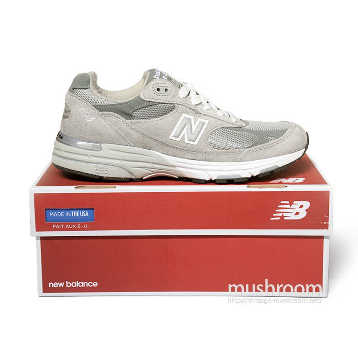 NEW BALANCE MR993 SHOES( 9/DEADSTOCK )