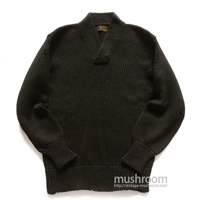 BRADLEY A-1 TYPE BLACK SWEATER