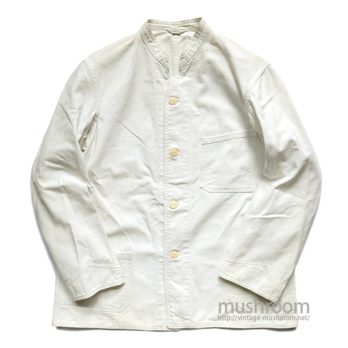 OLD WHITE CANVAS COVERALL
