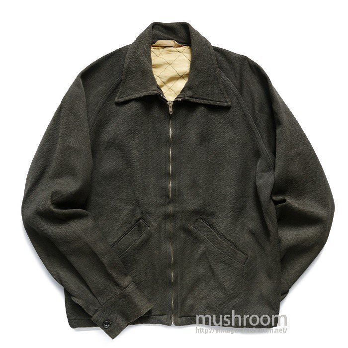 OLD UNKNOWN SPORTS JACKET WITH LOCK FAST ZIPPER