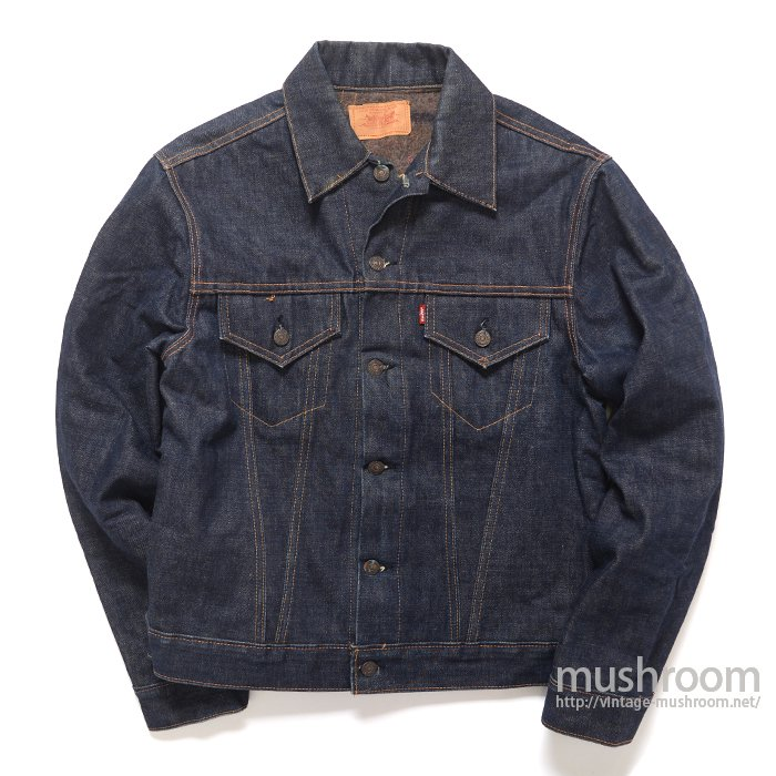 LEVI'S 70505-0317 BIGE DENIM JACKET( 42/MINT )