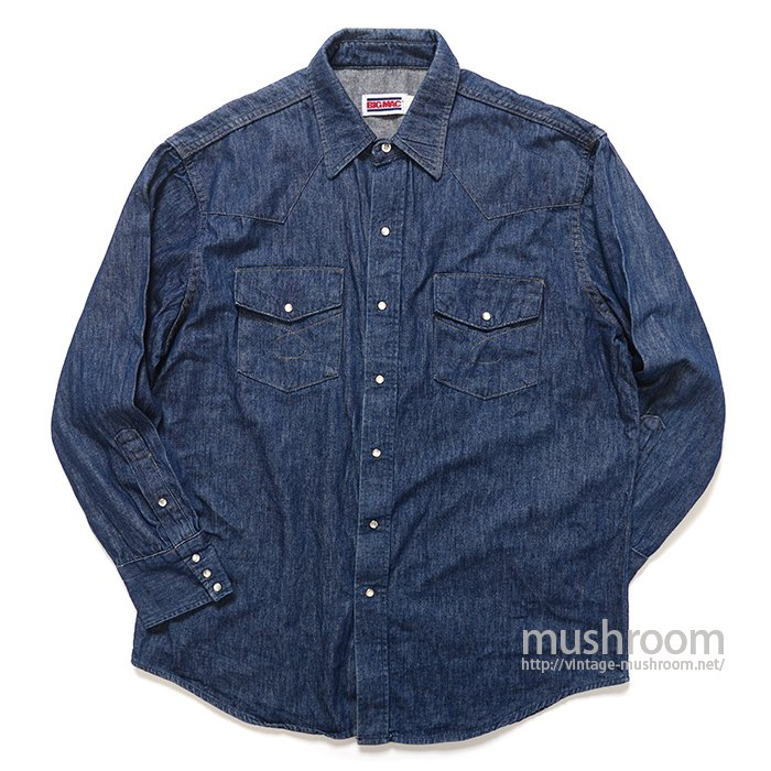 BIG MAC DENIM SHIRT( L/MINT )