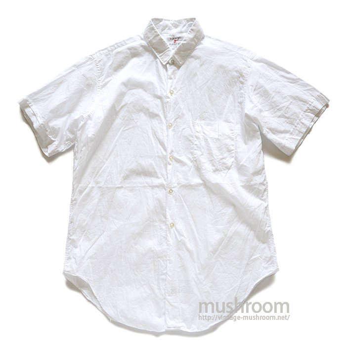 ARROW WHITE COTTON S/S SHIRT( 15 1/2/MINT )