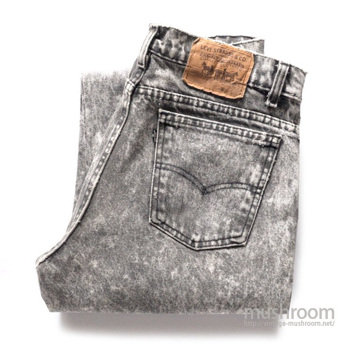 LEVI'S 506 CHEMICAL WASH JEANS