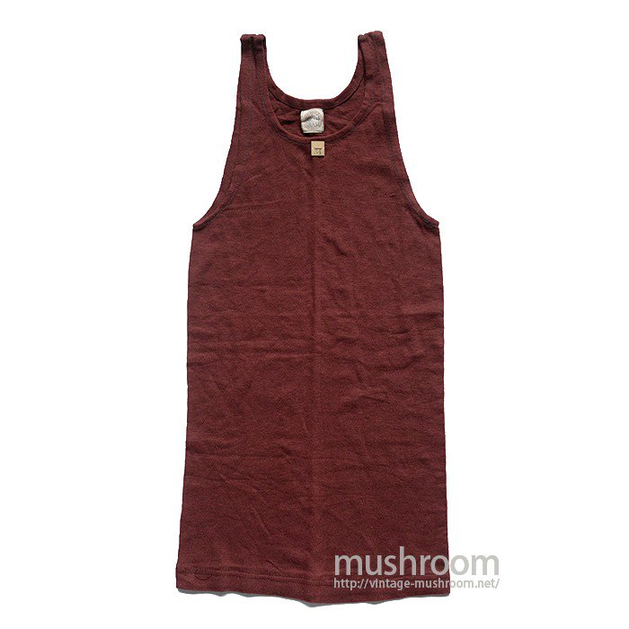 BRESLER ATHLETIC COTTON TANK TOP( 34/DEADSTOCK )