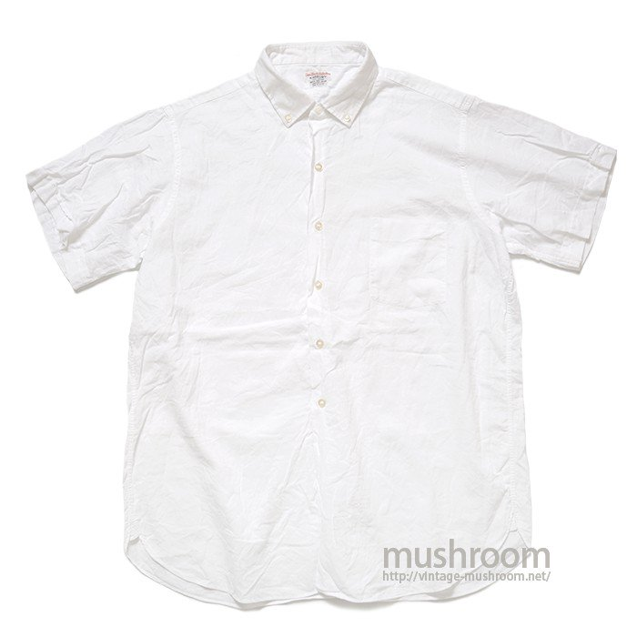 ARROW WHITE OXFORD COTTON S/S BD SHIRT