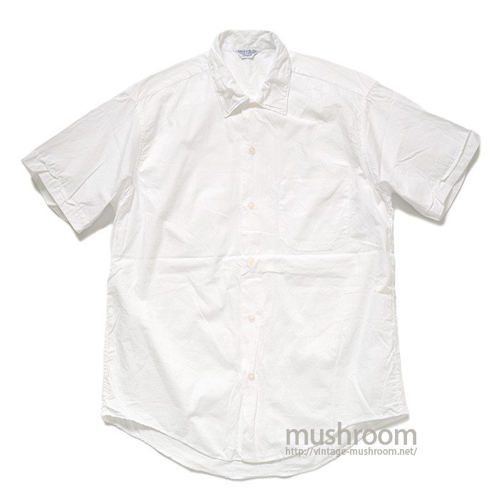 ISLAND IN THE SKY WHITE COTTON S/S SHIRT( MINT )