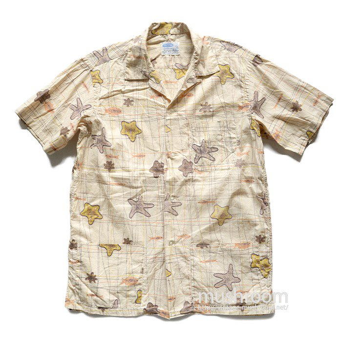 PILGRIM COTTON HAWAIIAN SHIRT WITH POCKET