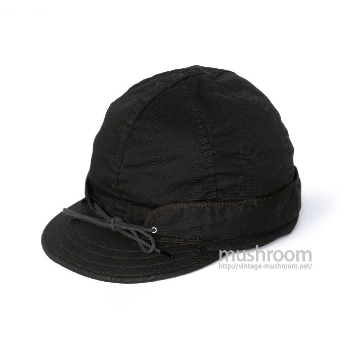 KROMER BLACK COTTON WORK CAP( MINT )