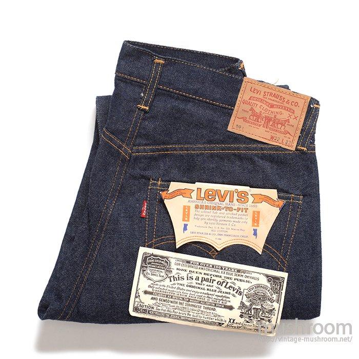 LEVI'S 501E JEANS( W32L33/DEADSTOCK )