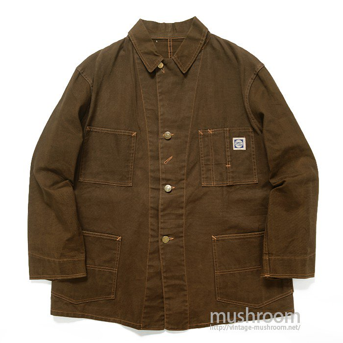 SWEET-ORR BROWN DUCK COVERALL( MINT )