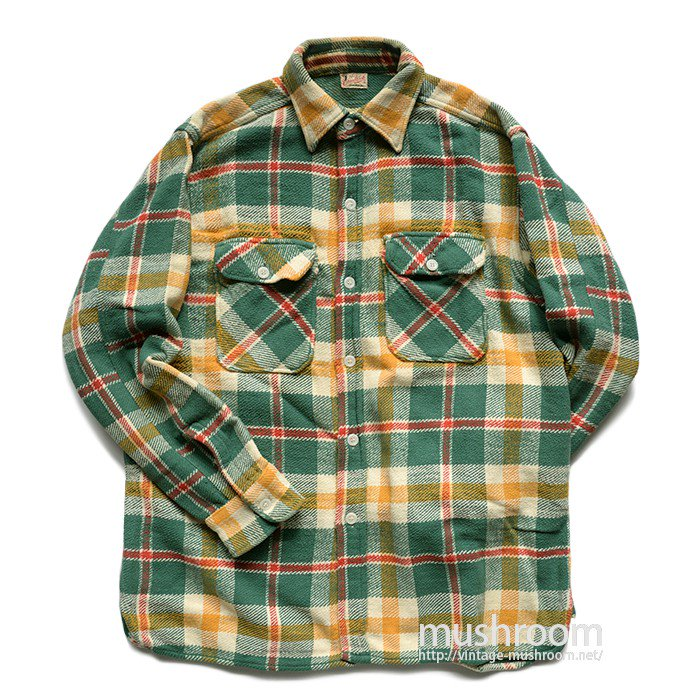 GRANBROOK PLAID HEAVY FLANNEL SHIRT