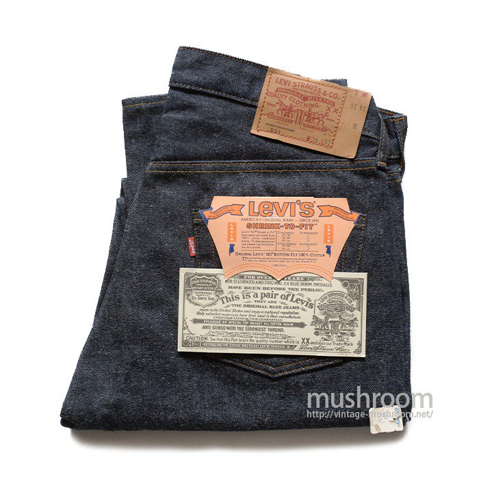 LEVI'S 501 RED LINE JEANS( W34/L31/DEADSTOCK )