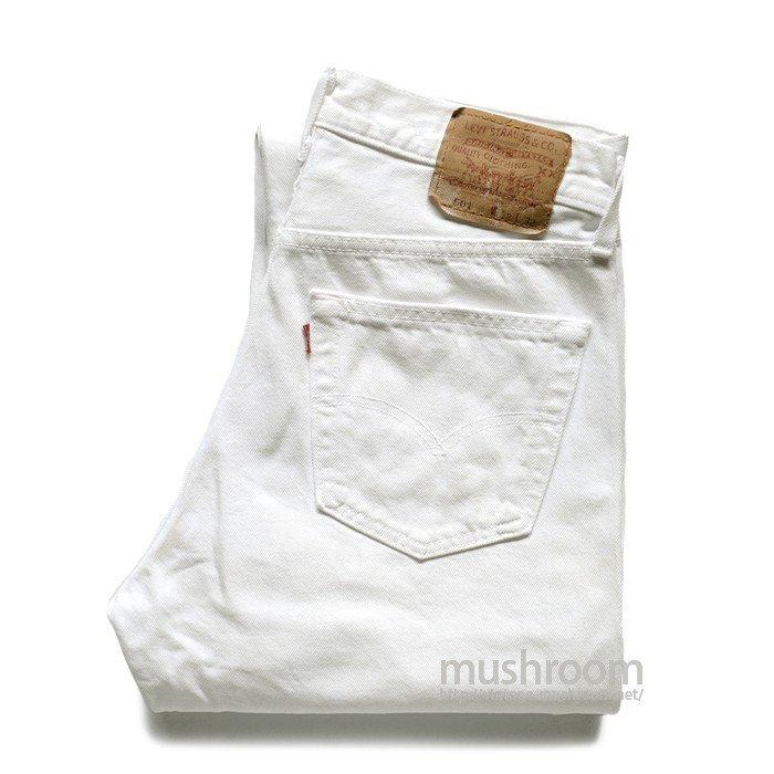 LEVI'S 501 WHITE JEANS( W32/L32 )