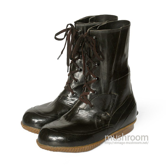 U.S.NAVY RUBBER BOOTS( 7EE/MINT )