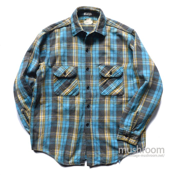 5BROTHER PLAID FLANNEL SHIRT