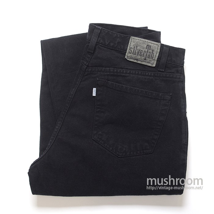 LEVI'S SILVER TAB BLACK JEANS