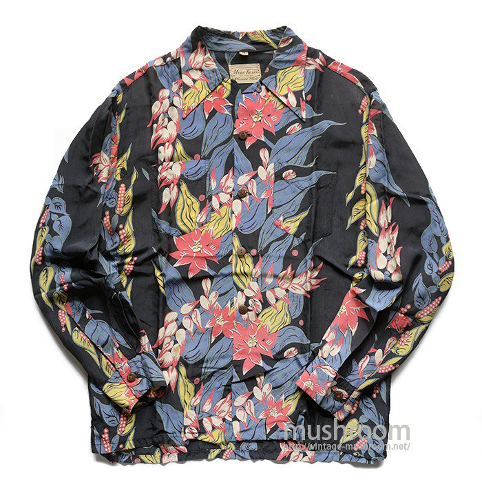 MARK TWAIN L/S HAWAIIAN SHIRT