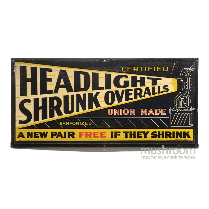 HEAD LIGHT ADVERTISING SIGN BOARD