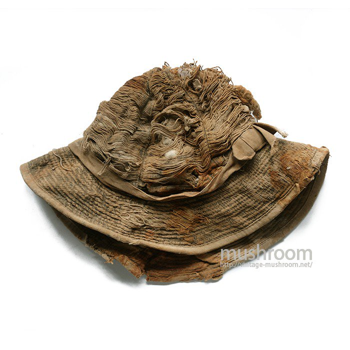 1870's MINER'S COTTON HAT