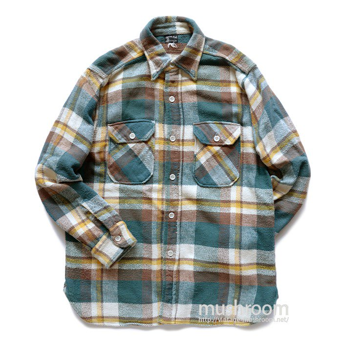 UNCLE SAM PLAID FLANNEL SHIRT