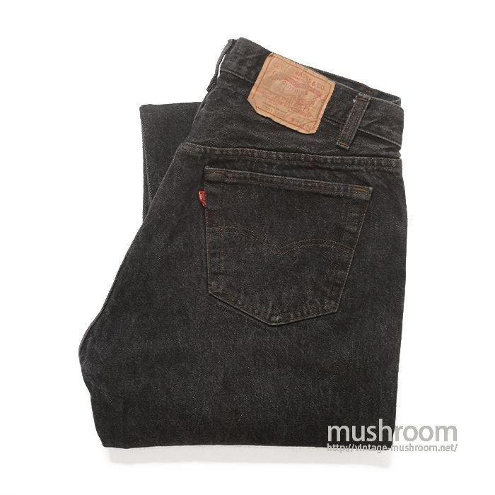 LEVI'S 501 BLACK JEANS( 35/34/MINT )