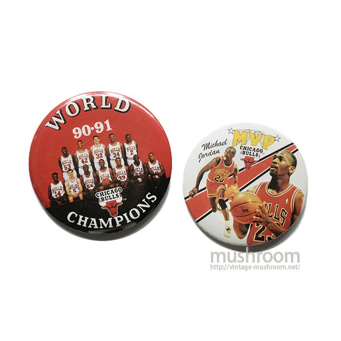 MICHAEL JORDAN BUTTON BADGES( 2SET )