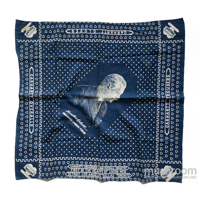 CARHARTT ADVERTISING BANDANA( MINT )