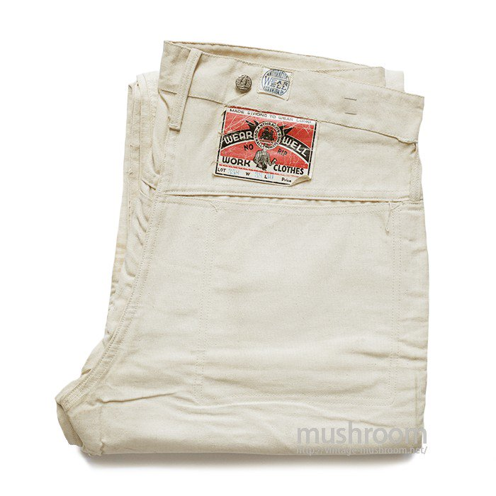 WEAR WELL CANVAS WORK PANTS( W38L30/DEADSTOCK )