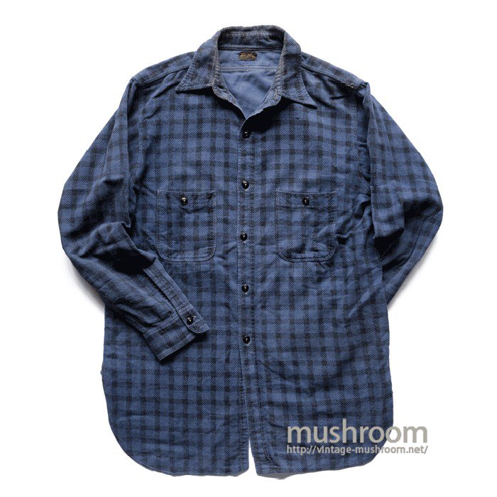 BIG JESS PRINT FLANNEL WORK SHIRT