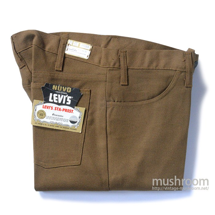 LEVI'S STA-PREST TAPERED PANTS( W33/DEADSTOCK )