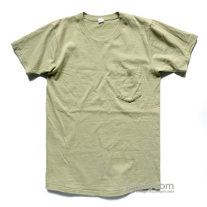 OLD COTTON POCKET T-SHIRT