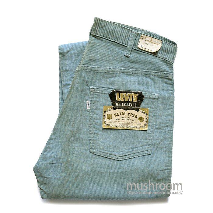 LEVI'S 518 BIGE SLIM FITS CORDUROY PANTS( W34/L32/DEADSTOCK )