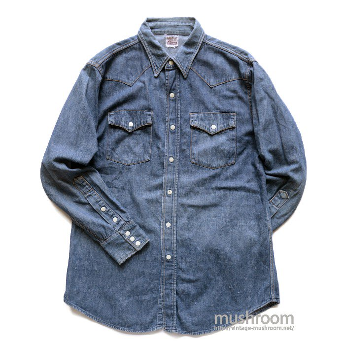 BARC DENIM WESTERN SHIRT