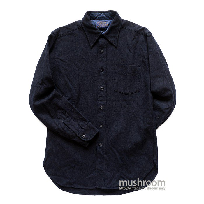 PENDLETON PLAIN WOOL SHIRT( M/MINT )