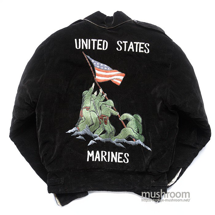 USMC SOUVENIR JACKET( MINT OR DEADSTOCK )