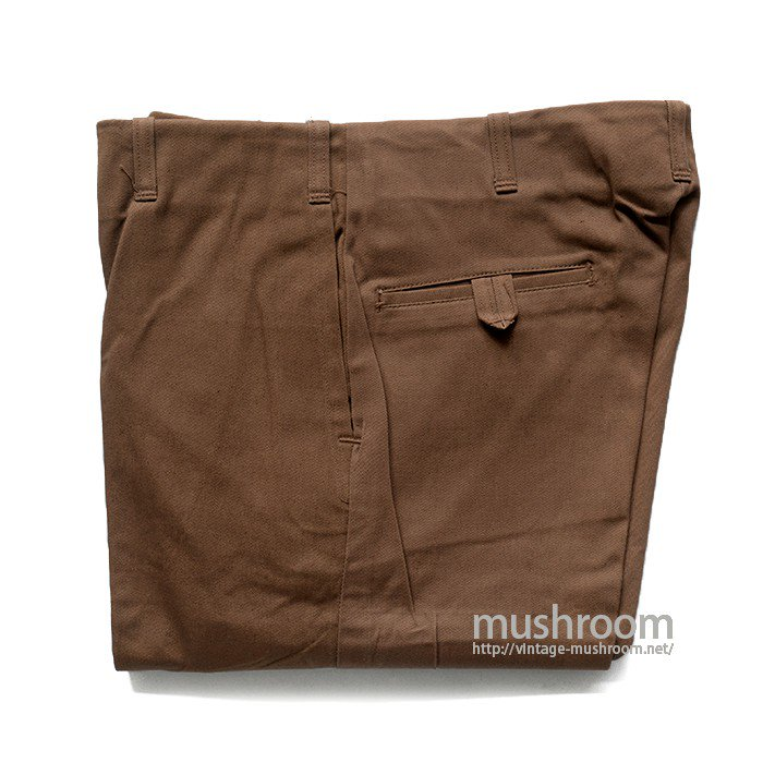 PRISONER COTTON WORK PANTS( 32/32/DEADSTOCK )