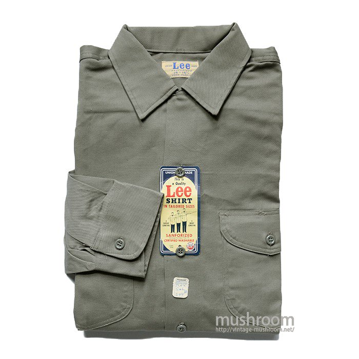 Lee WORK SHIRT( 14-14 1/2/DEASTOCK )