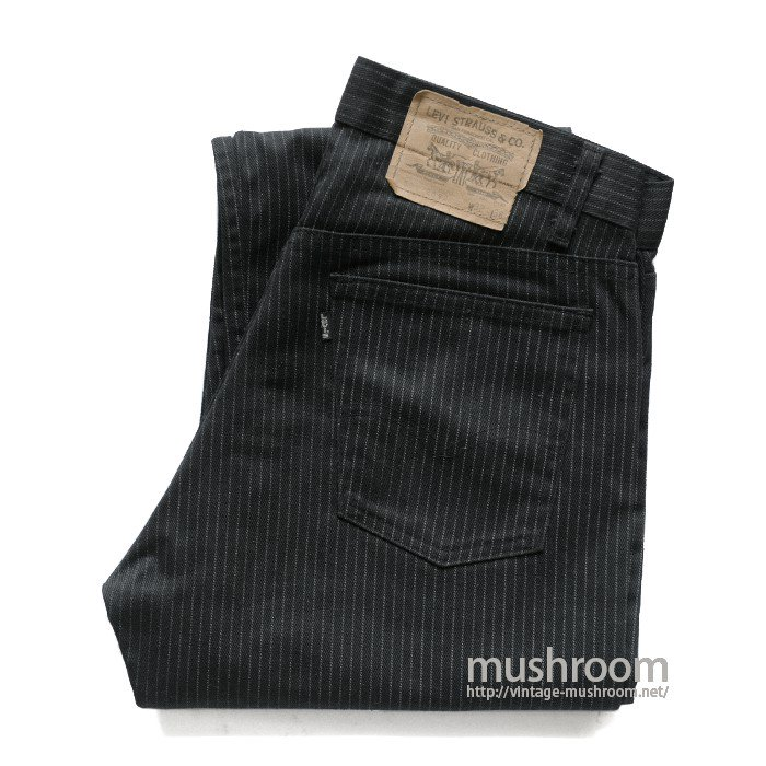 LEVI'S 505 STRIPE PANTS