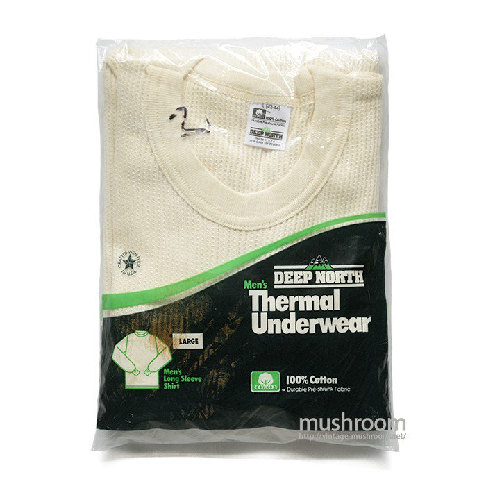 DEEP NORTH THERMAL UNDERWEAR( L/DEADSTOCK )