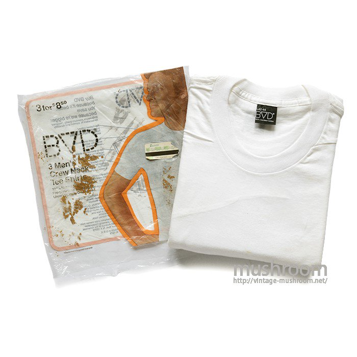 BVD PLAIN 3PACK T-SHIRT( L/DEADSTOCK )