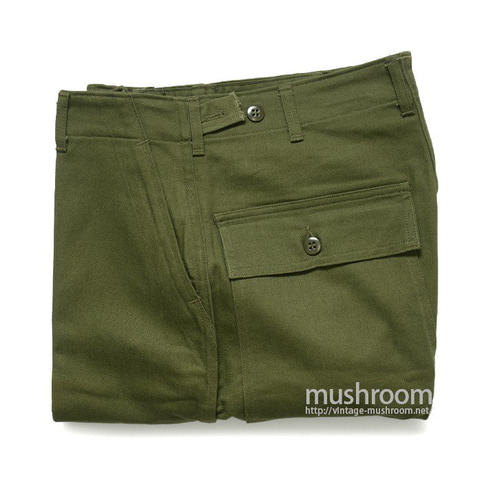 U.S.MILITARY UTILITY COTTON TROUSER( M/DEADSTOCK/2 )