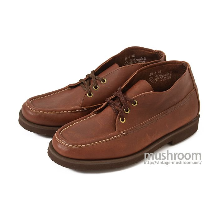 RUSSELL MOCCASIN BOOTS( 8H-E/DEADSTOCK )