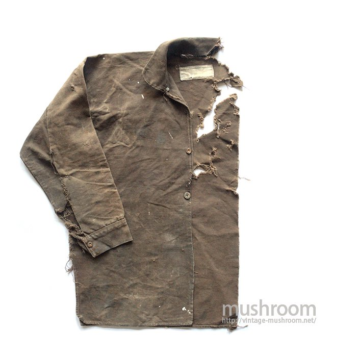BOSS OF THE ROAD BROWN CANVAS JUMPER