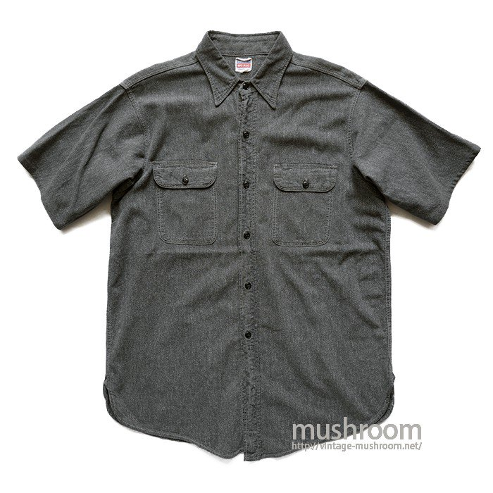 BIG MAC BLACK CHAMBRAY SHIRT