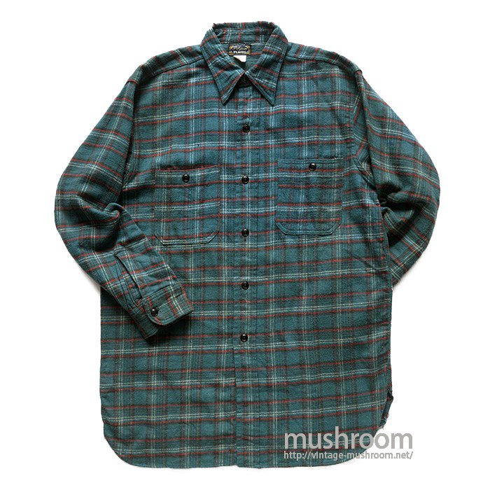 PILGRIM PLAID FLANNEL SHIRT( 15 1/2/MINT )